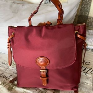 Dooney and Bourke nylon flap backpack